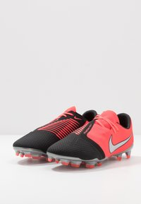 Nike Performance - PHANTOM PRO FG - Moulded stud football boots - laser crimson/metallic silver/black - 2