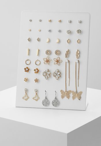 GALELINIA 20 PACK - Earrings - silver-coloured