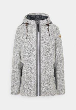 BIELLA - Zip-up sweatshirt - natural white