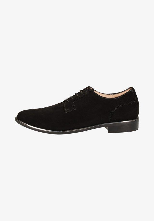 Zapatos con cordones - schwarz 787