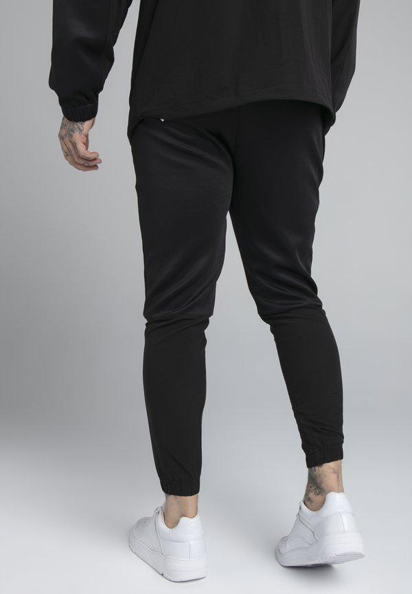 SIKSILK TRANQUIL TRAINING PANT - Spodnie treningowe - black/grey/czarny Odzież Męska TGUQ