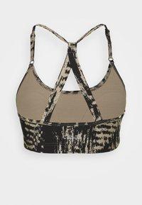 Casall - STRAPPY SPORTS BRA - Medium support sports bra - survive grey - 1