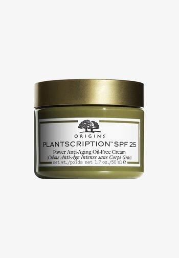 PLANTSCRIPTION SPF25 POWER ANTI-AGING OIL FREE CREAM