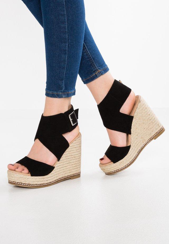 FRIDA - High heeled sandals - noir