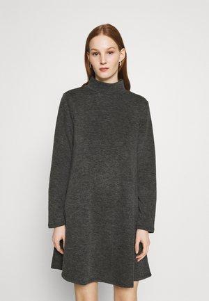 VIMANY  - Strikket kjole - dark grey melange