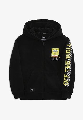 BY VANS X SPONGEBOB HAPPY FACE KIDS FZ - Zip-up hoodie - (spongebob) happy face