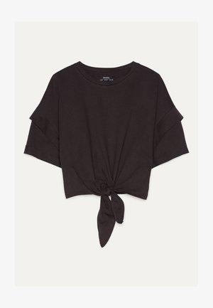 MIT KNOTEN  - Print T-shirt - black