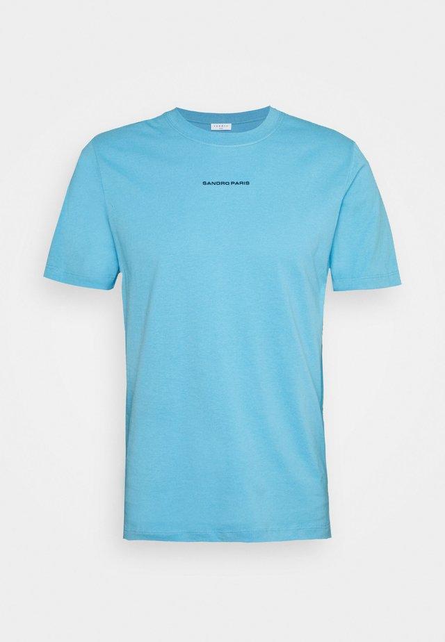 SOLID TEE  - T-shirt basic - bleu pastel