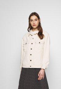 American Vintage - SNOPDOG - Denim jacket - ecru - 0