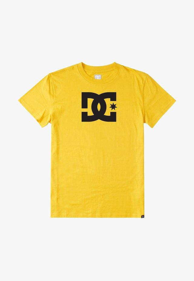 STAR - T-shirt print - golden rod