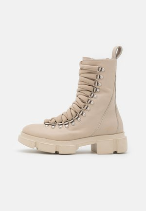 CPH559  - Platform ankle boots - nature