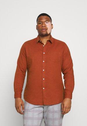 ANDERS SHIRT - Overhemd - rust