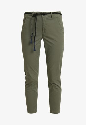ONLEVELYN ANKLE PANT  - Chinos - kalamata