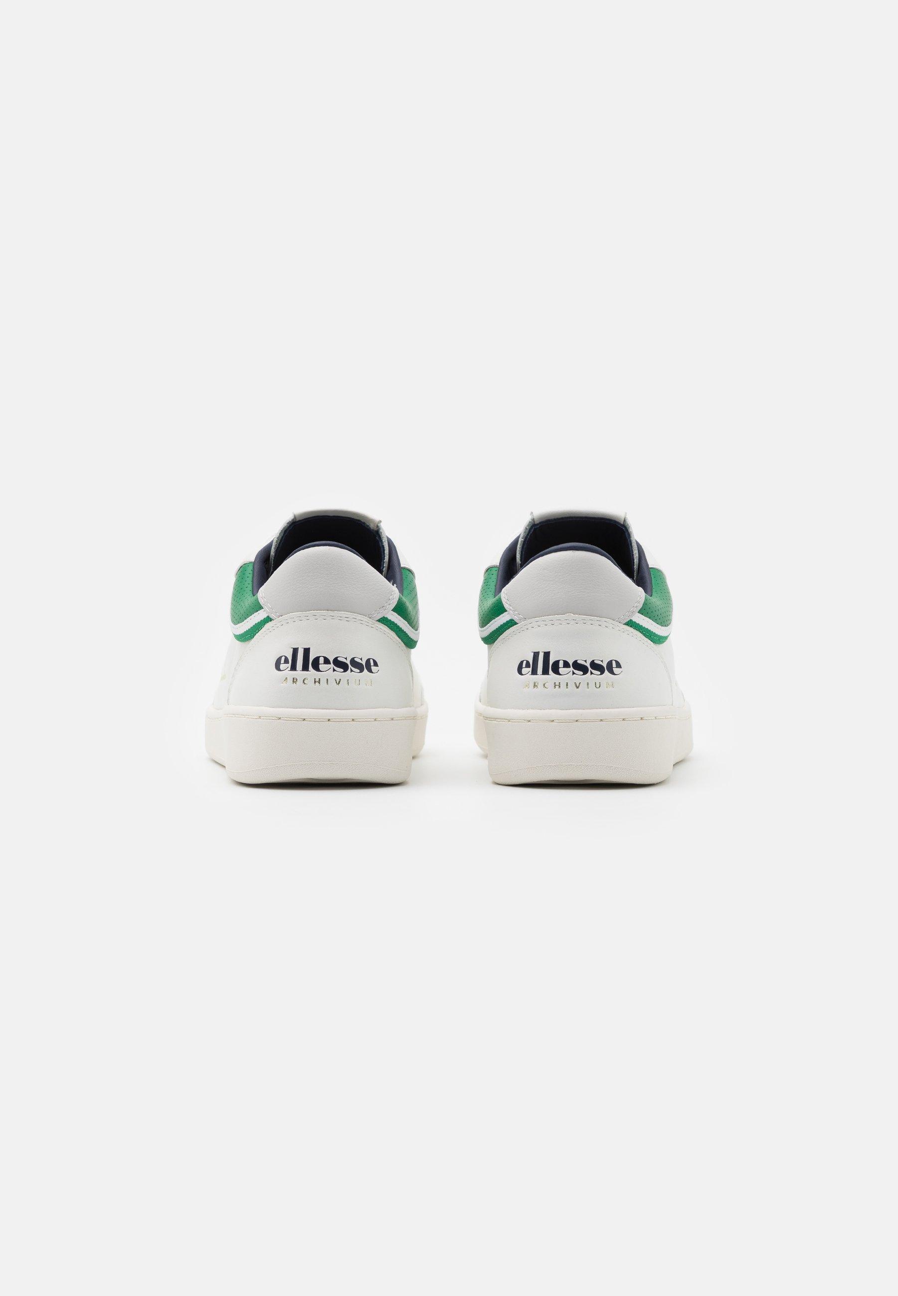 Ellesse LS ARCHIVIUM - Sneaker low - white/green/weiß - Herrenschuhe gOG5K