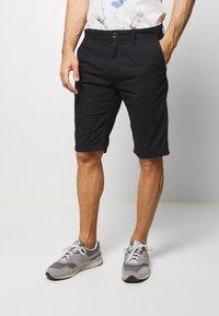 TOM TAILOR - Shorts - black - 0
