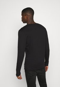 Jack & Jones - JJDETAIL  - Long sleeved top - black - 2