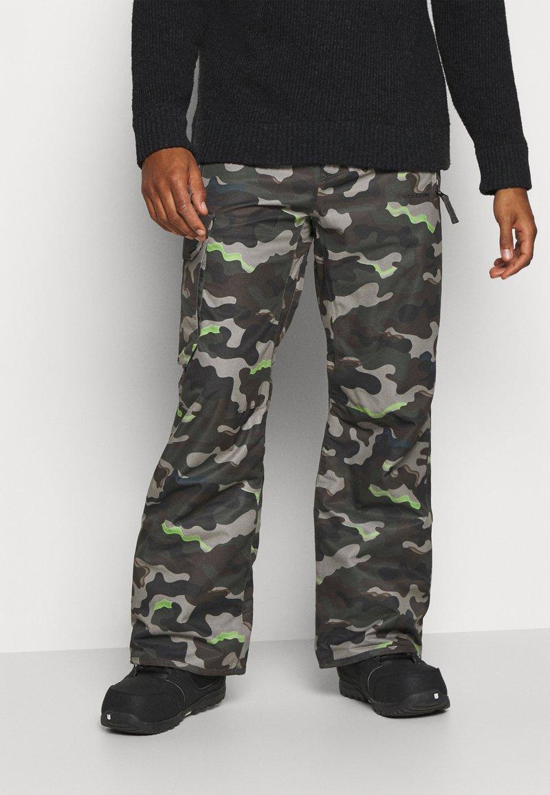 Volcom - HUNTER PANT - Snow pants - olive
