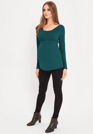 2 IN 1 - Long sleeved top - green