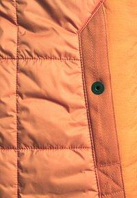 G-Star - QUILTED VEST - Waistcoat - namic lite/acid orange - 2