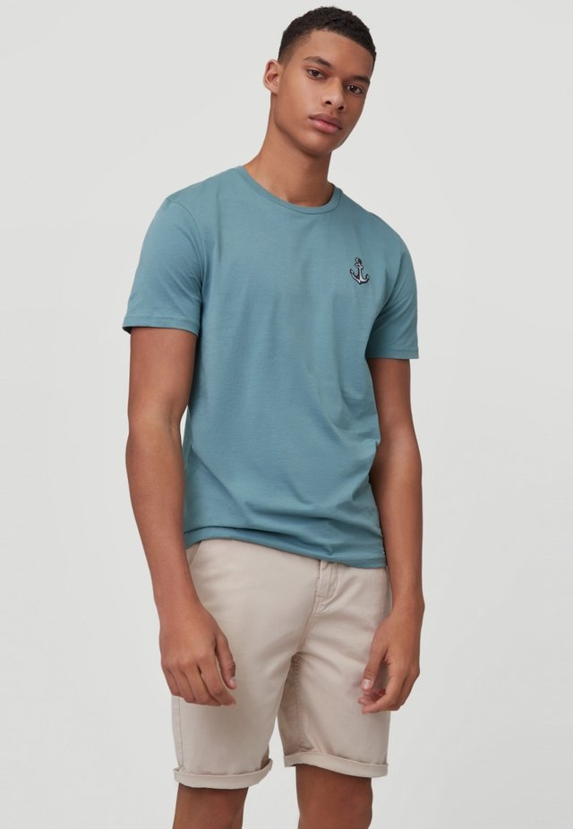 T-shirt basic - teal