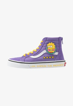 THE SIMPSONS SK8 ZIP - Sneakersy wysokie - purple