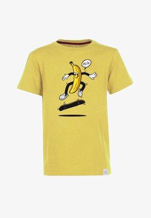 BANANA FLIP - Printtipaita - yellow
