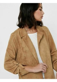 ONLY - Short coat - toasted coconut - 5