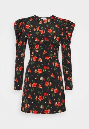 TULIP RUCH WAIST MINI - Vestido informal - multi-coloured