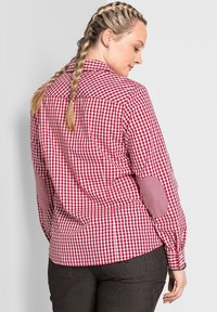 Sheego - Button-down blouse - rot - 1