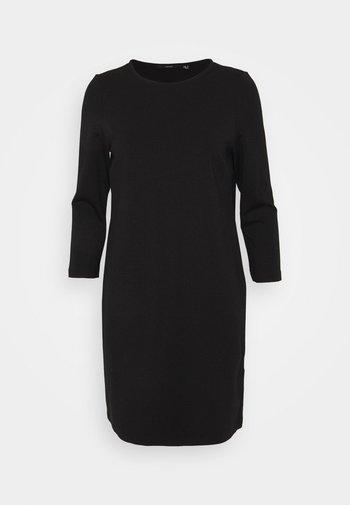VMEVA 3/4 SLEEVE SHORT DRESS - Jumper dress - black