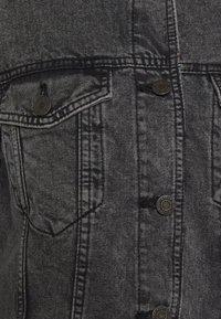 Noisy May - NMOLE  - Denim jacket - dark grey denim - 5