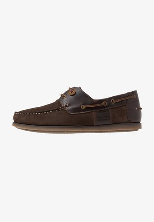 CAPSTAN - Boat shoes - brown