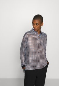 Emily van den Bergh - Button-down blouse - brown/bleu - 3