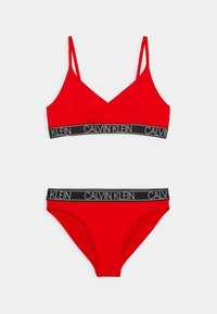 Calvin Klein Swimwear - TRIANGLE SET - Bikini - fierce red - 0