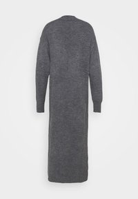 YAS Tall - YASNANA LONG - Cardigan - dark grey melange - 1