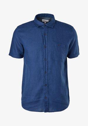 REGULAR MET KORTE MOUWEN - Camicia - blue