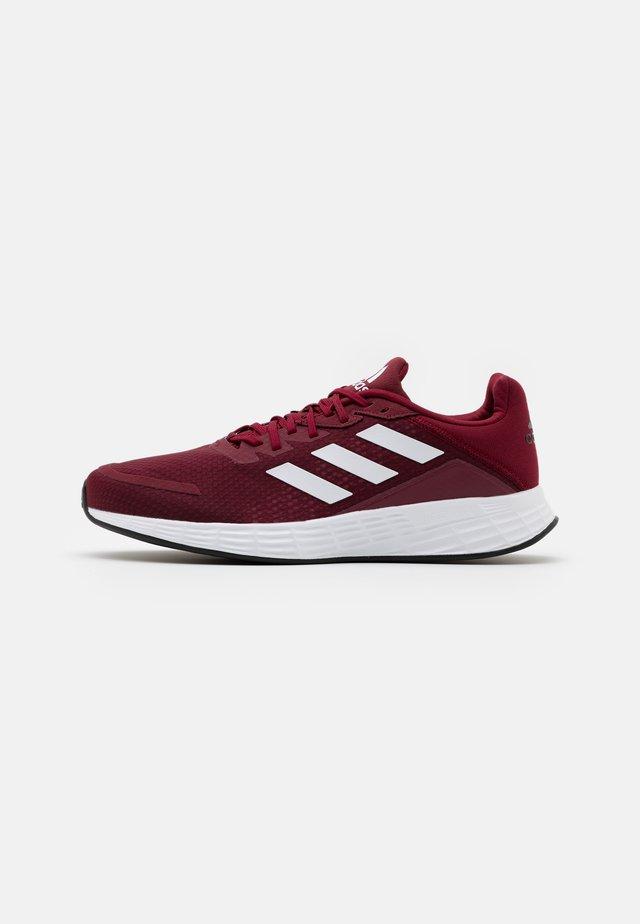 DURAMO - Chaussures de running neutres - collegiate burgundy/footwear white/core black