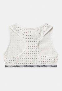 Calvin Klein Underwear - 2 PACK - Bustier - white/rapid red - 1