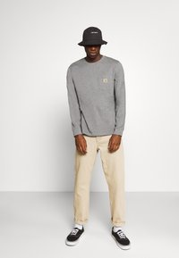 Carhartt WIP - POCKET  - Long sleeved top - dark grey heather - 1