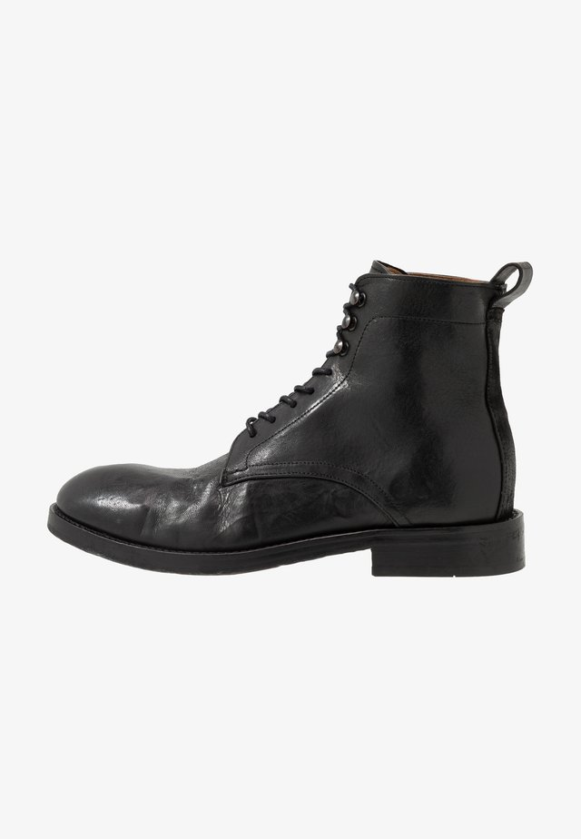 YEW - Bottines à lacets - black