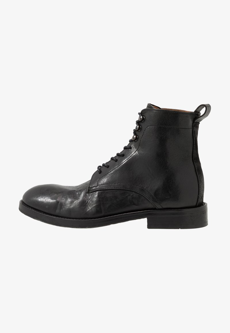 Hudson London - YEW - Lace-up ankle boots - black