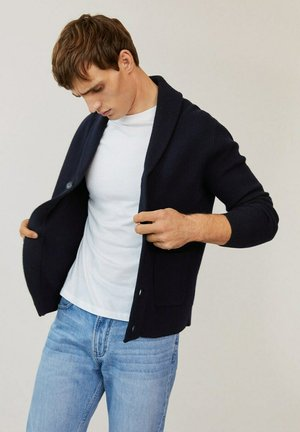 TINDER - Cardigan - marineblau