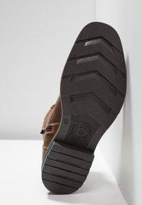 Bugatti - Lace-up ankle boots - cognac - 4