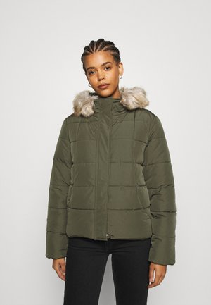 Vinterjakke - khaki