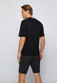 BOSS - TALBO - Print T-shirt - black - 2