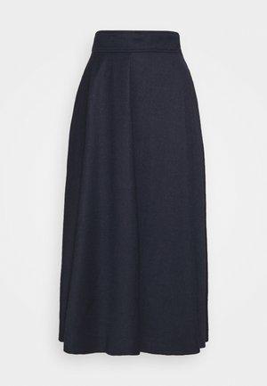 CABLO - Áčková sukně - night blue