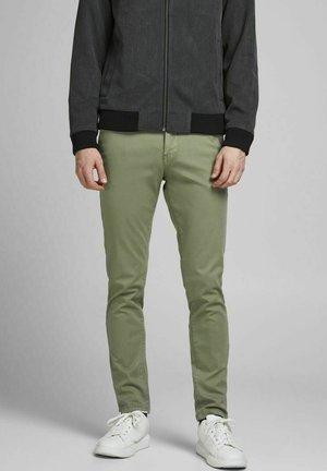 Pantalones - deep lichen green