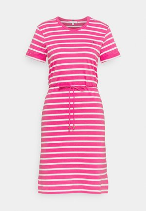 COOL SHIFT SHORT DRESS  - Jerseykjole - pink