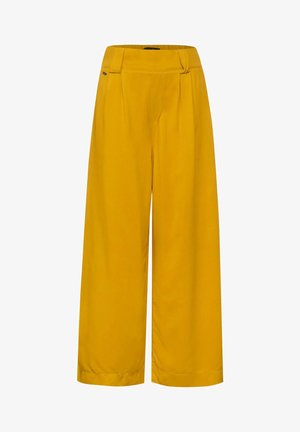 Trousers - gelb