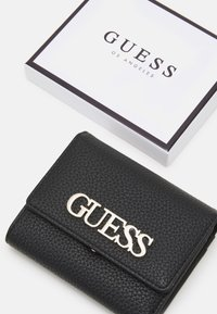 Guess - UPTOWN CHIC SMALL TRIFOLD - Wallet - black